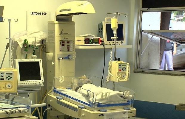 Excesso de pacientes no HMI causou superbactéria que matou 2, diz diretora em Goiás (Foto: Reprodução/TV Anhanguera)