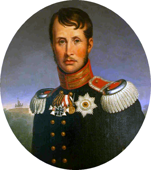 Portrait of FrederickWilliam III of Prussia