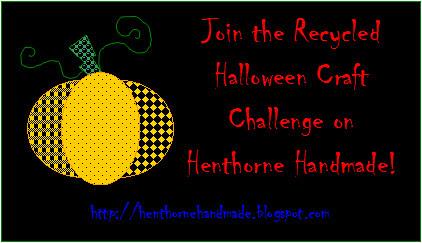 2010 Recycled Halloween Craft Challenge