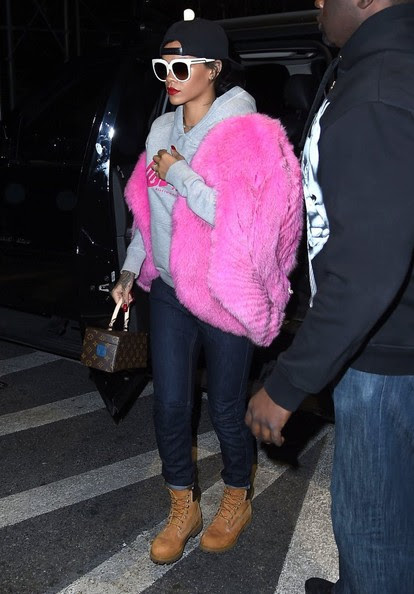 Singer Rihanna spotted out and about in New York City, New York on November 5, 2014. Rihanna is turning heads with her new racy cover of Esquire UK that it to be released in December. Rianna boldly stripped down to make it as racy as possible.