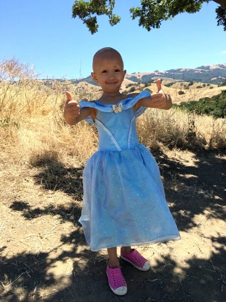 a 4-year-old fashion designer who creates dresses out of garbage bags