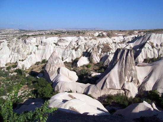 Paisaje típico de Cappadocia