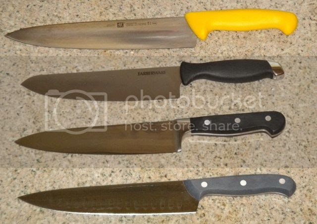 Knife Review Chefs Knife Chicago Cutlery