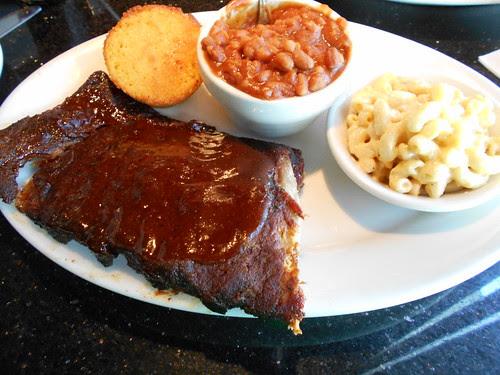 my rib dinner