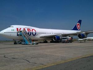 Kabo Air 747-200
