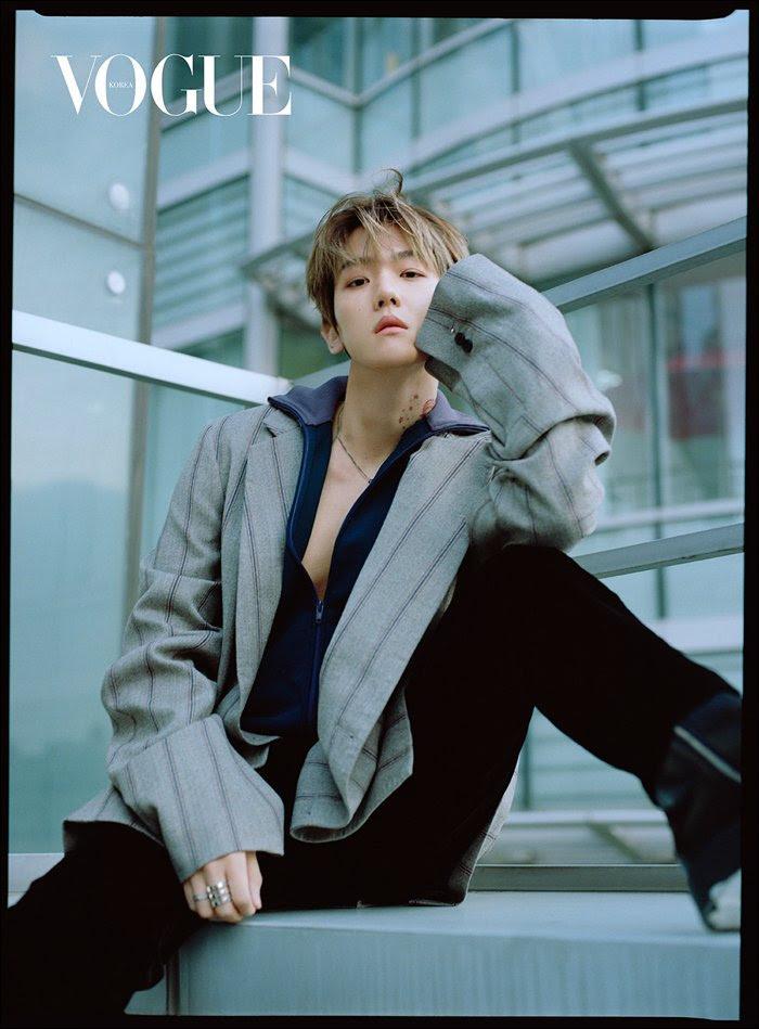 Exo Images Baekhyun For Vogue Korea Magazine On December 2018 Issue
