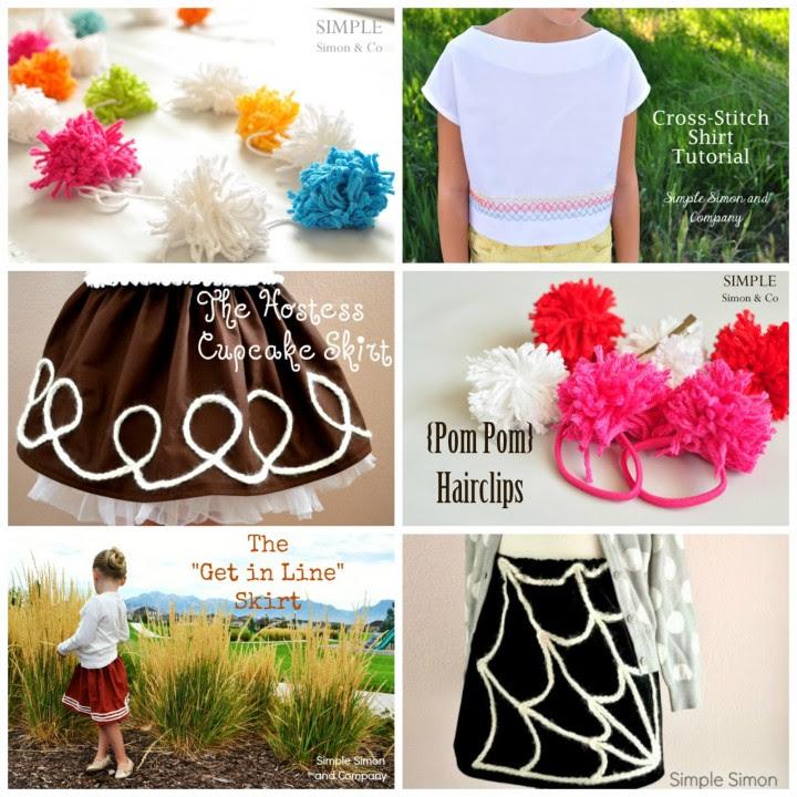 yarn collage