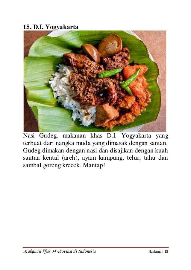 Oleh Oleh Balikpapan Gambar Makanan Khas Dari 34 Provinsi Di