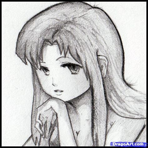 sketch anime step  step anime females anime