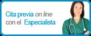 Cita previa on line con el Especialista