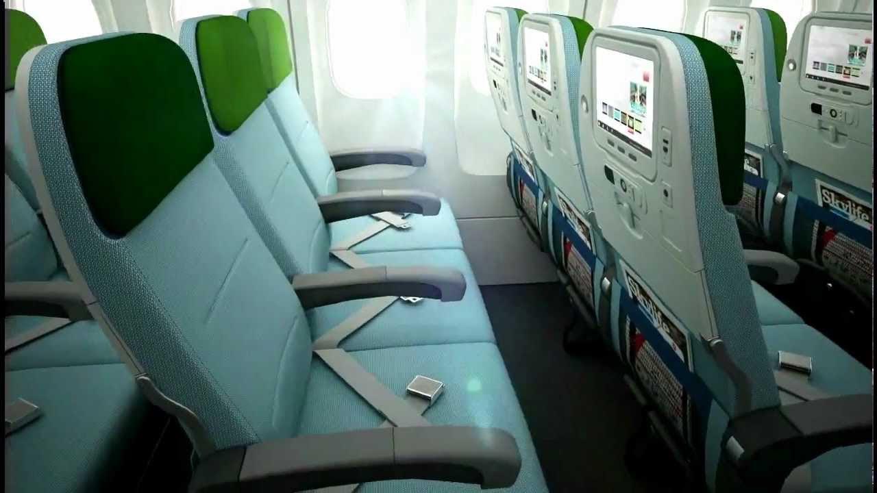 Turkish Airlines - Premium Economy Class 3D - YouTube