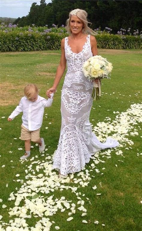 Bohemian Wedding Dresses for Stylish Brides   Silhouettes