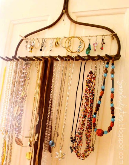 23 Creative Ideas For Jewelry Storage - Fashion Diva Design