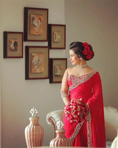 Dressed by Salon Ruchira   2nd day Brides   Pinterest