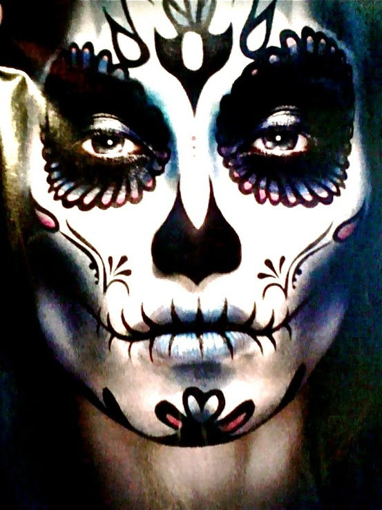 Day Of The Dead Makeup Male