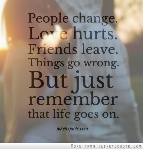 Quotes Tagged Under People Change