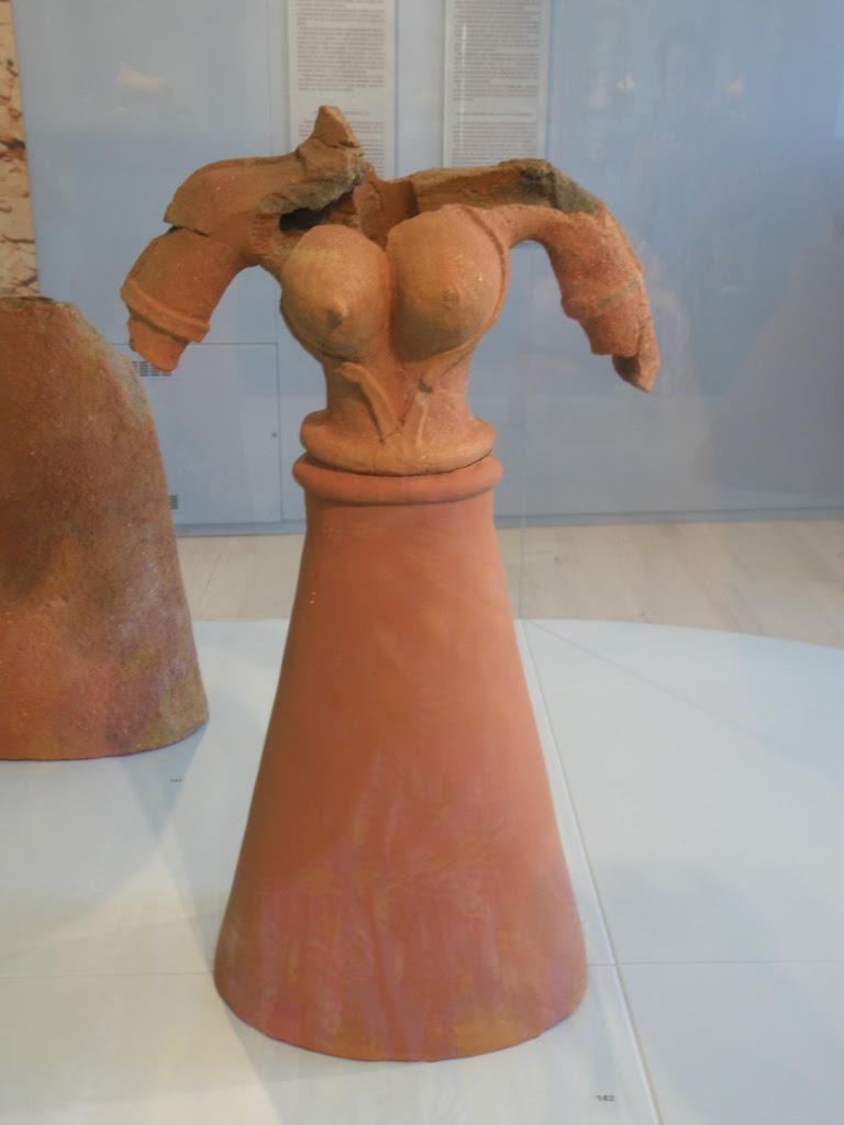 urban travel tales,terracotta statues of Kea/Tzia,Archaeological site of Ayia Irini, prehistoric