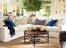 pottery barn how to accessorize your home