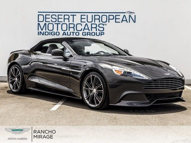 2014 Aston Martin Vanquish Volante Ceramic Grey Raven Black Argento Obsidian