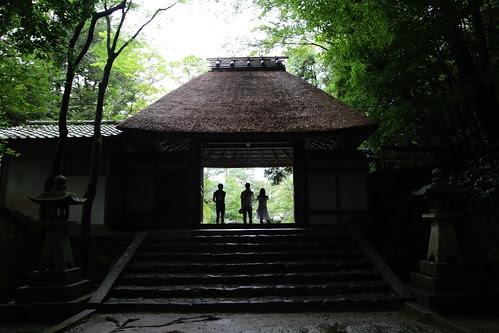 Sanmon Gate, main entrance of Honen-in Temple