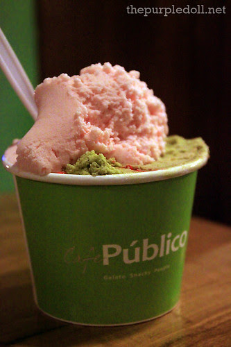 Cafe Publico Toothpaste and Blushing Geisha Gelato