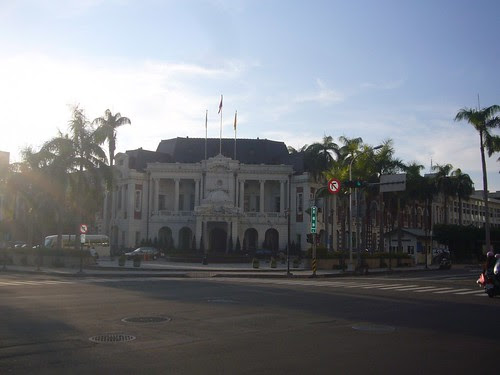 台中州廳建築(~2010年之台中市政府)