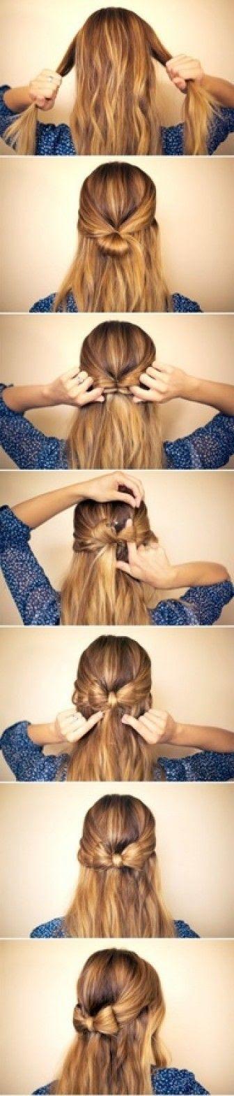 Adım adım saç modeli