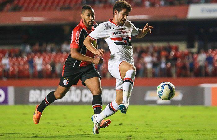 Pato marcou o terceiro gol do São Paulo - Brazil Photo Press/Folhapress