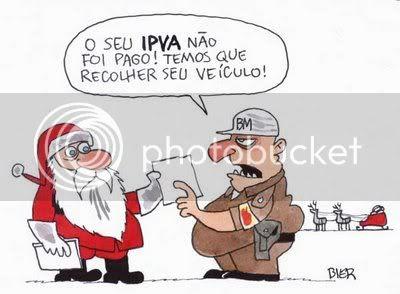 Charge do Bier Papai Noel não pagou o IPVA