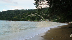 Charlotteville from our cottage