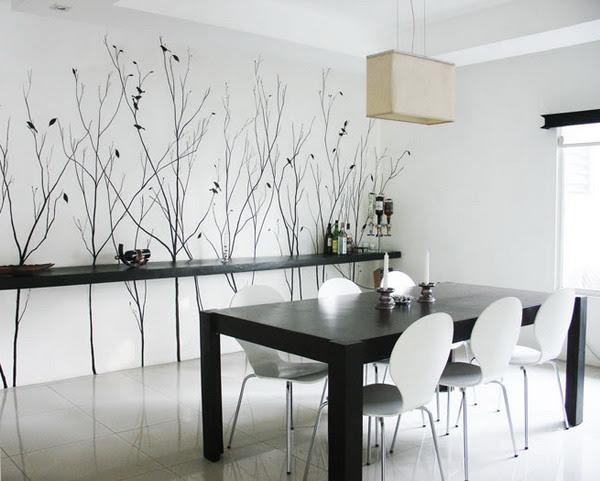 Dining Room Decoration Dining Room Wall Ideas