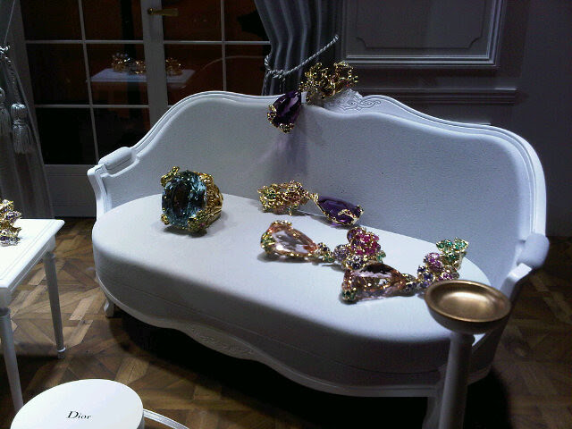 Dior jewellery by Victoire de Cast. - by susan tabak