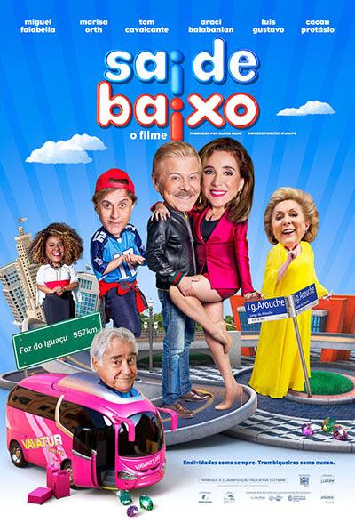Sai de Baixo - O Filme : Poster