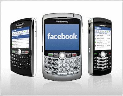 Perangkat mobile untuk akses FB