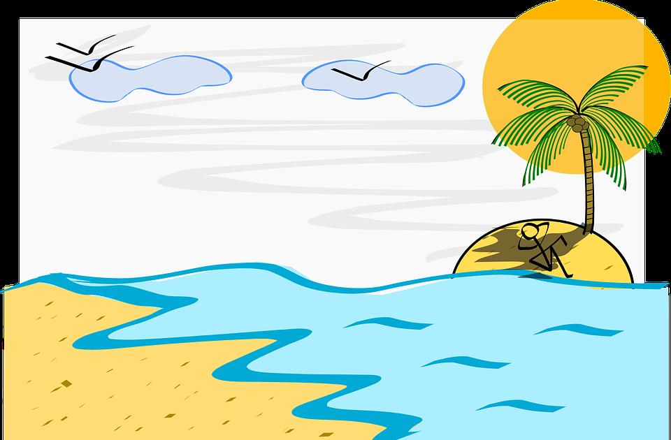 57 Gambar Kartun Pemandangan Di Laut Trend Saat Ini