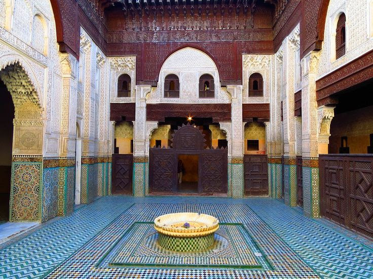 The old Medersa, Meknes