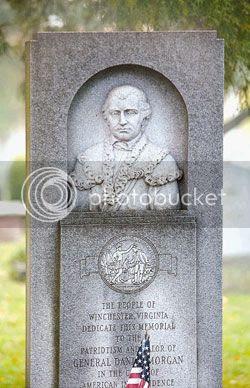 monument at General Daniel Morgan's gravesite