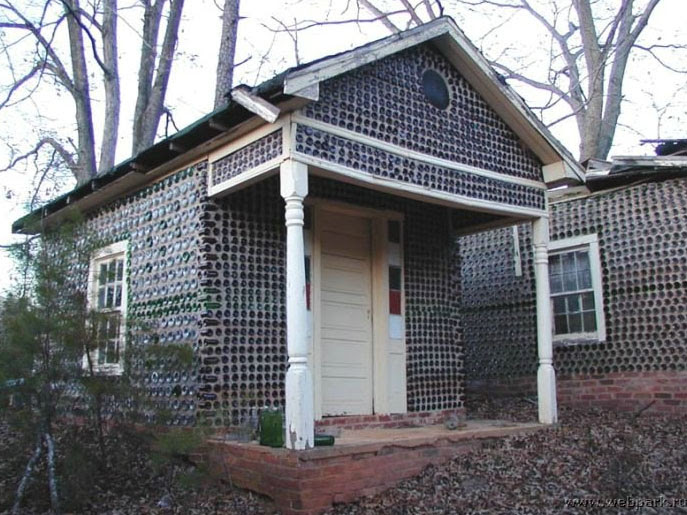 5 Recycled Buildings Made from Bottles, Cans, Bales & Tires | Urbanist