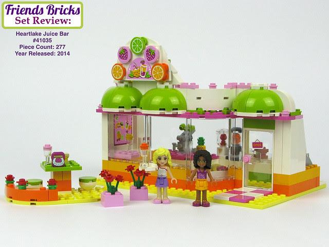 Friends Bricks Heartlake Juice Bar #41035 Review