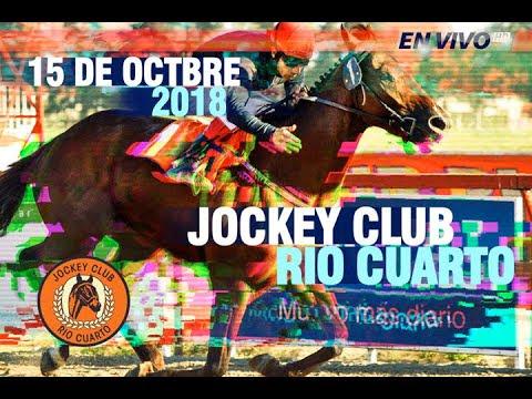 Transmisión en vivo - Hipódromo Jockey Club Río Cuarto - Reunión N°11 - 15 de Octubre 2018