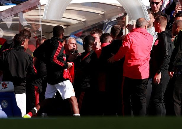 EPL: Mourinho blasts referee after 2-2 draw with Chelsea, speaks on fight after the game