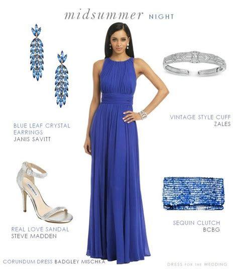 Blue Formal Dress for a Wedding Guest   Blue formal