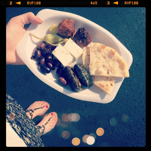 Greek fest! Best festival food all summer!