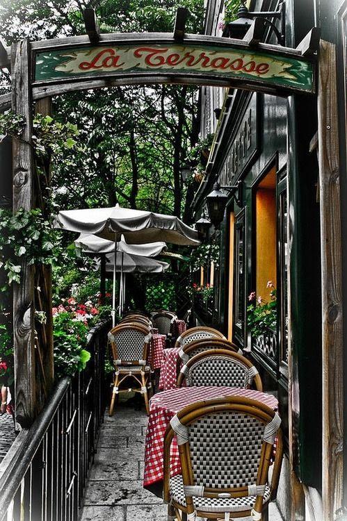Parisian Caf茅