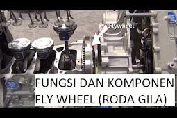 (Video) Kegunaan Fly Wheel/Roda Gila dalam Mesin - Otodut Channel