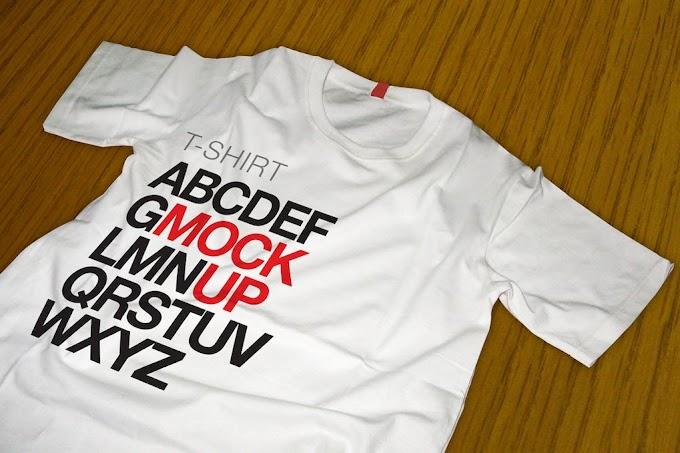 Free Premium T-shirt Mockup