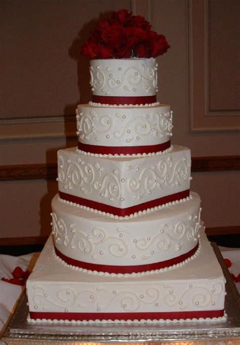 square and round cake   Formal Wear   Square wedding cakes