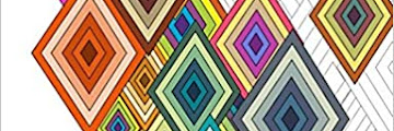 Geometric Coloring Book For Adults