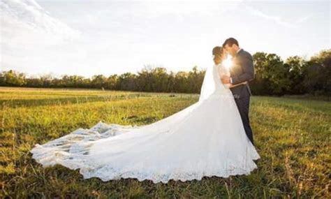 Jinger Duggar Reveals Weird Reason Her Wedding Dress Train