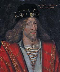 Retrato de Jaime I de Escocia